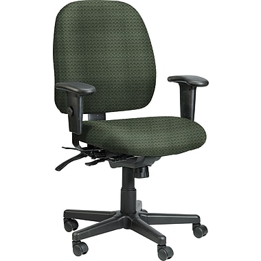 Raynor Eurotech Fabric 4 x 4 Multi-function Task Chair, Cirque Summer Grass