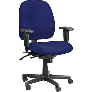 Raynor Eurotech Vinyl 4 x 4 Multi-function Task Chair, Persuasion Blueberry