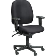 Raynor Eurotech Fabric 4 x 4 Multi-function Task Chair, Basis Onyx