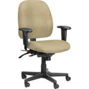 Raynor Eurotech Vinyl 4 x 4 Multi-function Task Chair, Persuasion Sand