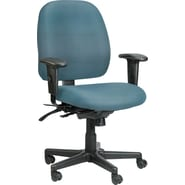 Raynor Eurotech Vinyl 4 x 4 Multi-function Task Chair, Persuasion Tahiti