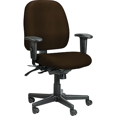 Raynor Eurotech Vinyl 4 x 4 Multi-function Task Chair, Persuasion Cafe