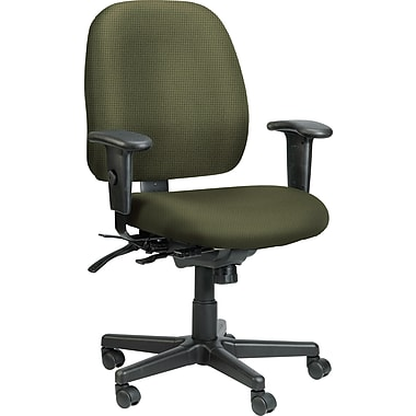 Raynor Eurotech Fabric 4 x 4 Multi-function Task Chair, Expo Leaf