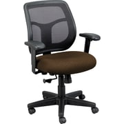 Eurotech Seating Fabric Computer and Desk Office Chair, Tangent Roulette, Adjustable Arm (MT9400TAN-ROUL)