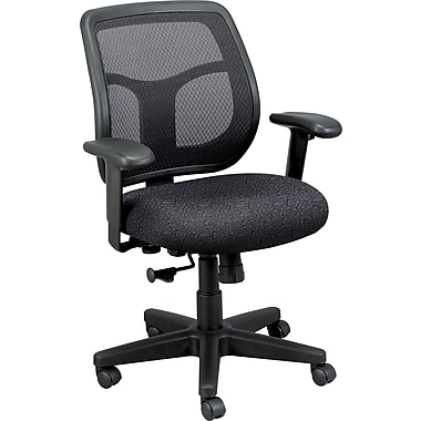 Raynor Eurotech Apollo Mesh Back Task Chair, Carbon Abstract
