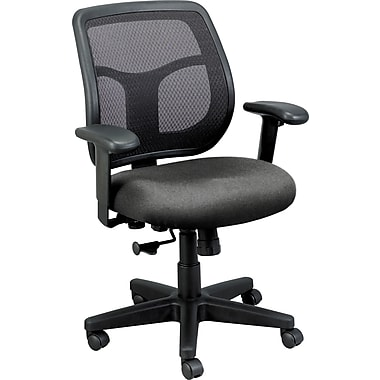 Raynor Eurotech Apollo Mesh Back Task Chair, Basis Fog