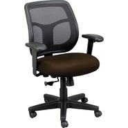 Raynor Eurotech Apollo Vinyl/Mesh Task Chair, Persuasion Cafe