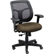 Raynor Eurotech Apollo Mesh Back Task Chair, Cirque Mocha
