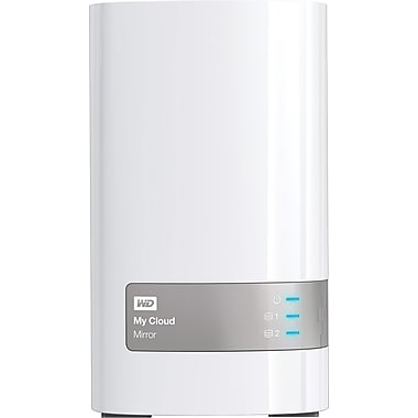 WD My Cloud™ Mirror™ 8TB Personal Cloud Storage