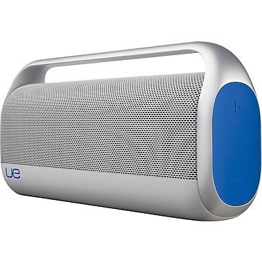 Logitech Boombox Refurbished Wireless Bluetooth Speaker, Silver