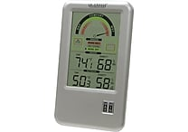 La Crosse Technology® 5' Comfort Meter With In/Out Temperature & Humidity