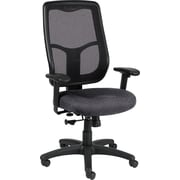 Raynor Eurotech Apollo Fabric Mid-back Multi-Function Task Chair, Carbon Abstract