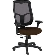 Raynor Eurotech Apollo Vinyl/Mesh Mid-back Multi-Function Task Chair, Persuasion Cafe