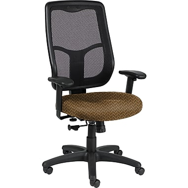 Raynor Eurotech Apollo Fabric Mid-back Multi-Function Task Chair, Transport Cowhide