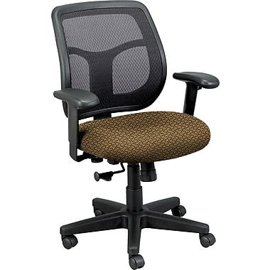 Raynor Eurotech Apollo Mesh Back Task Chair, Transport Cowhide