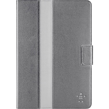 Belkin iPad Mini Striped Cover with Stand, Gray