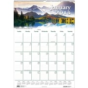 House of Doolittle™ 2015 , Monthly, January-December, Scenic Wall Calendar, 12 x 16 1/2