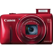 Canon PowerShot SX600 HS Digital Camera, Red