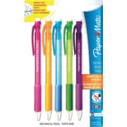 Paper Mate Write Bros Grip Mechanical Pencils, 0.7mm, Assorted Barrel Colors, 5/Pack