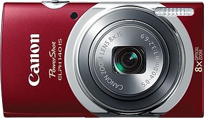 Canon PowerShot ELPH140 IS Digital Camera, Red