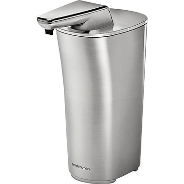 Simplehuman Sensor Soap Pump, Brushed Nickel, 7.5 fl. oz.
