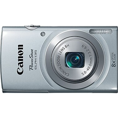 Canon PowerShot ELPH135 Digital Camera, Silver