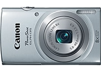 Canon PowerShot ELPH135 Digital Camera, Silver