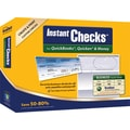 Instant Checks™ for Quickooks®, Quicken® & Money - Form #1000 Business Voucher Security Checks - Blue - Prestige - 500pk