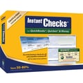 Instant Checks™ for Quickooks®, Quicken® & Money - Form #3000 Business Standard Security Checks - Green - Graduated - 250pk