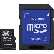 Toshiba 32GB MicroSD Class 4 Flash Memory Card