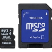 Toshiba 16GB MicroSD Class 4 Flash Memory Card
