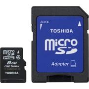 Toshiba 8GB MicroSD Class 4 Flash Memory Card