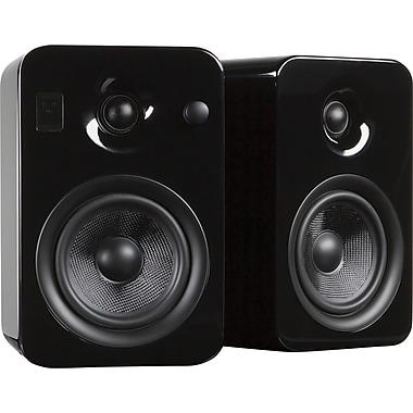 Kanto YUMI Powered Bookshelf Audio System, Gloss Black