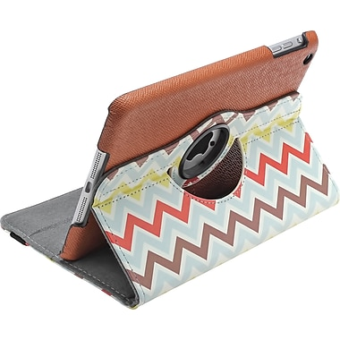 Aduro Rotating Stand Case for iPad 2/3/4, Chevron