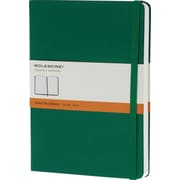 Moleskine Classic Colored Notebook, Extra Large, Ruled, Hard Cover, Oxide Green, 7.5 x 10