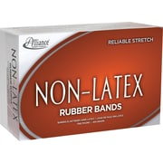 "Alliance Orange Non-Latex Rubber Bands , #64 (3 ½"" x 1/4""), 1 lb. Box"