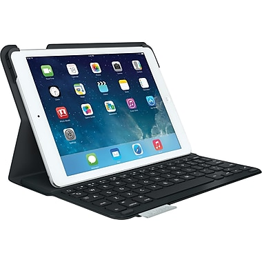 Logitech Ultrathin Bluetooth Keyboard Folio for iPad Air, Carbon Black (920-006909)