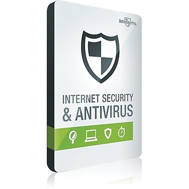 Defender Pro Antivirus & Online Security for Windows (1-3 Users) [Download]
