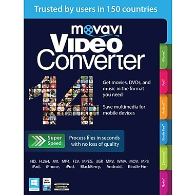 Movavi Video Converter 14 Personal Edition for Windows (1 User) [Download]