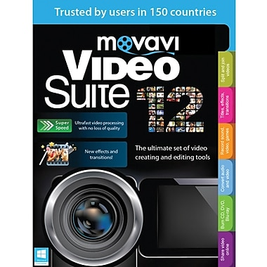 Movavi Video Suite 12 Personal Edition for Windows (1 User) [Download]