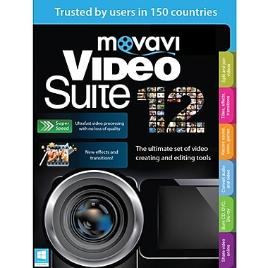 Movavi Video Suite 12 Business Edition for Windows (1 User) [Download]