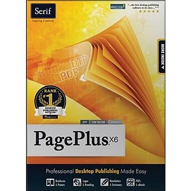 Serif – PagePlus X6 pour Windows (1 utilisateur) [Téléchargement]