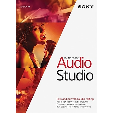 Sony Sound Forge Audio Studio 10 for Windows (1 User) [Download]