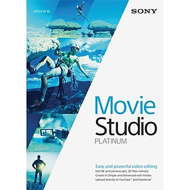 Sony Movie Studio 13 Platinum for Windows (1 User) [Download]