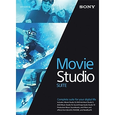 Sony Movie Studio 13 Suite for Windows (1 User) [Download]