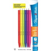 Paper Mate Sharpwriter Colors Mechanical Pencils, 0.7mm, Dozen