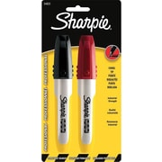 Sharpie Pro Permanent Markers, Chisel Tip, Assorted, 2/Pack