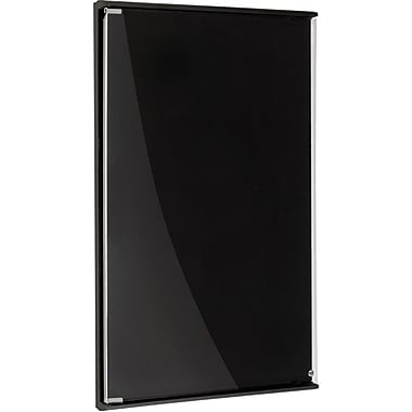 Iceberg® Community Enclosed Board, Black, 24