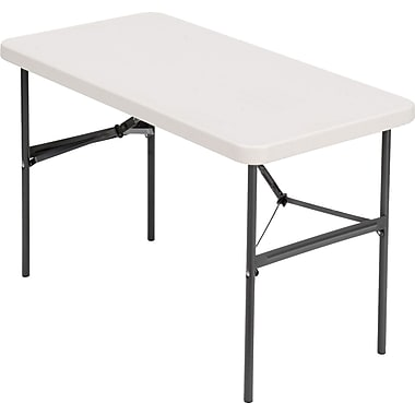 IndestrucTable TOO Folding Table, 500 Series - Platinum - 24