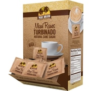 Maui Raws Turbinado Cane Sugar, 200 Packets/Box
